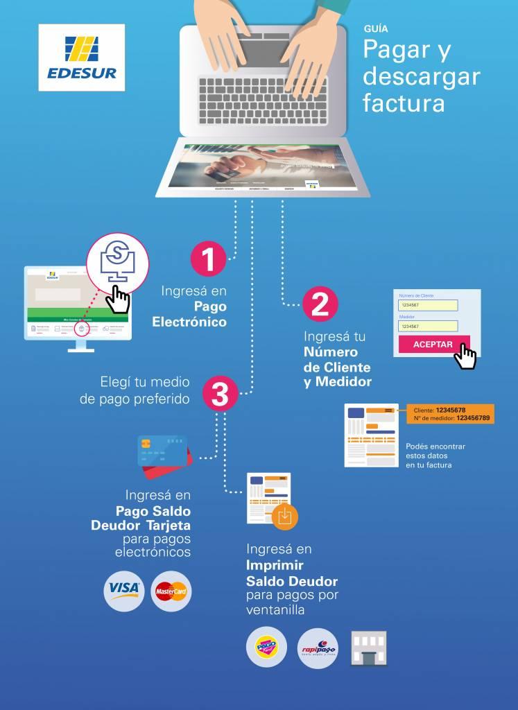 Tutorial Edesur: Pagar e Imprimir Factura