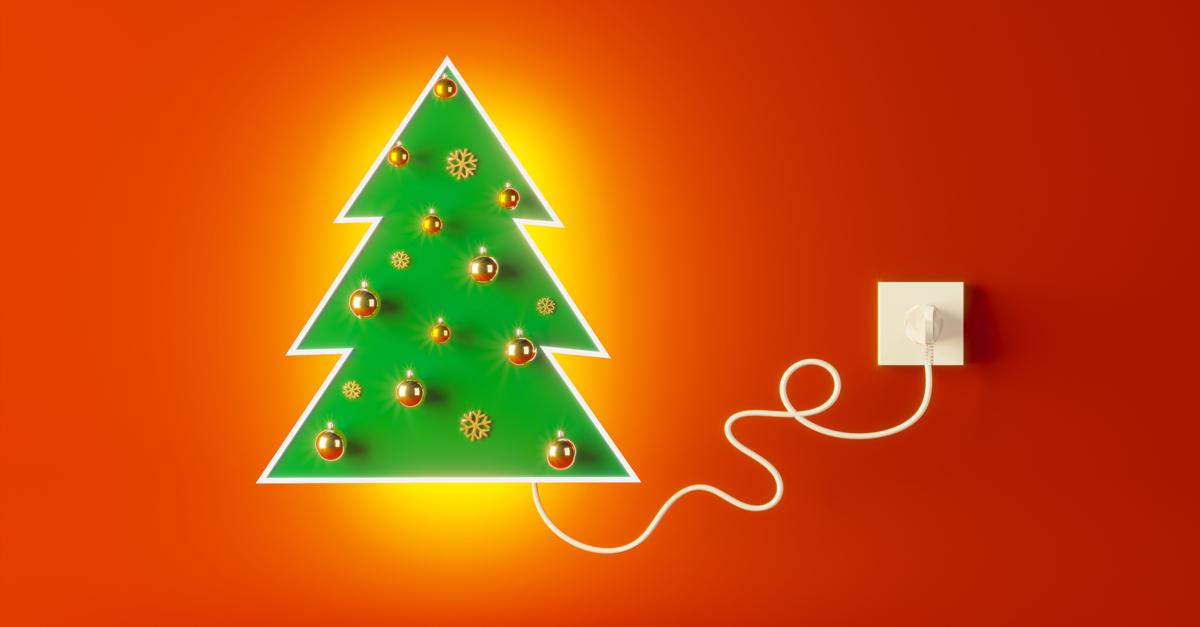 Navidad y Año Nuevo: decoración con luces eficiente y segura