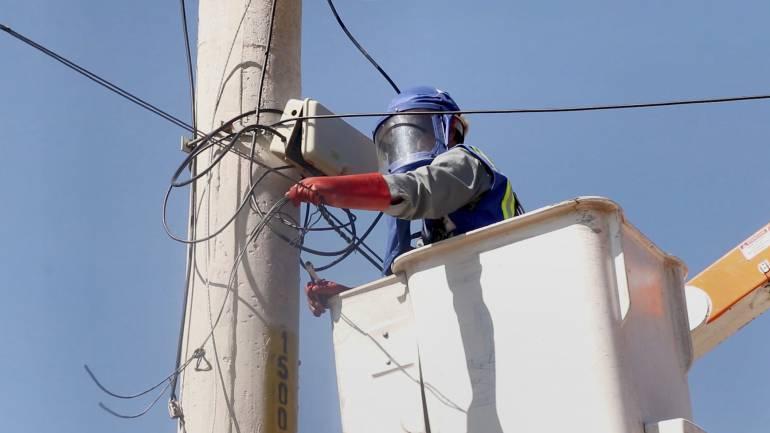 Operativo contra hurto de energía en Presidente Perón
