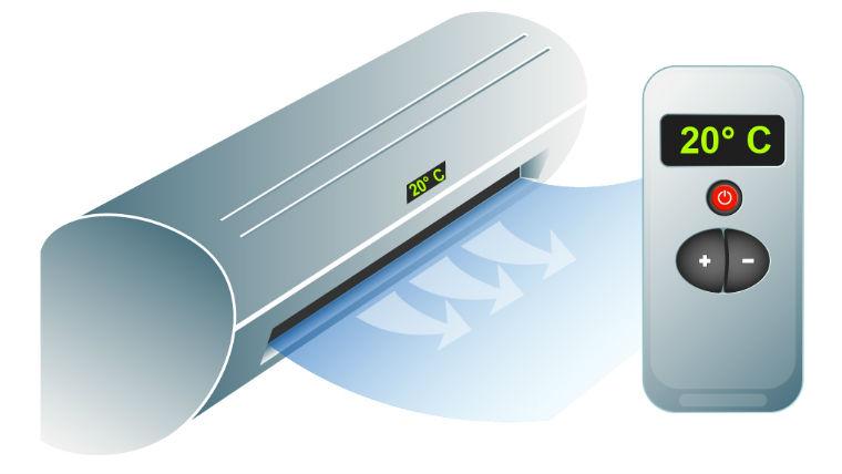 ¿Cómo usar el aire acondicionado en modo calor?