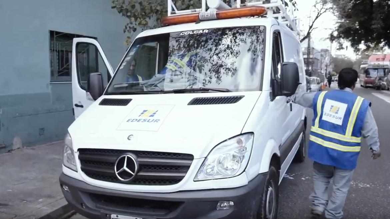 Nueva flota de vehículos de Edesur