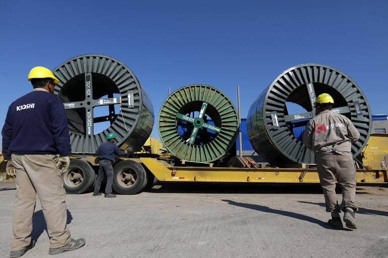 Avanzan las obras para la nueva subestación en San Vicente