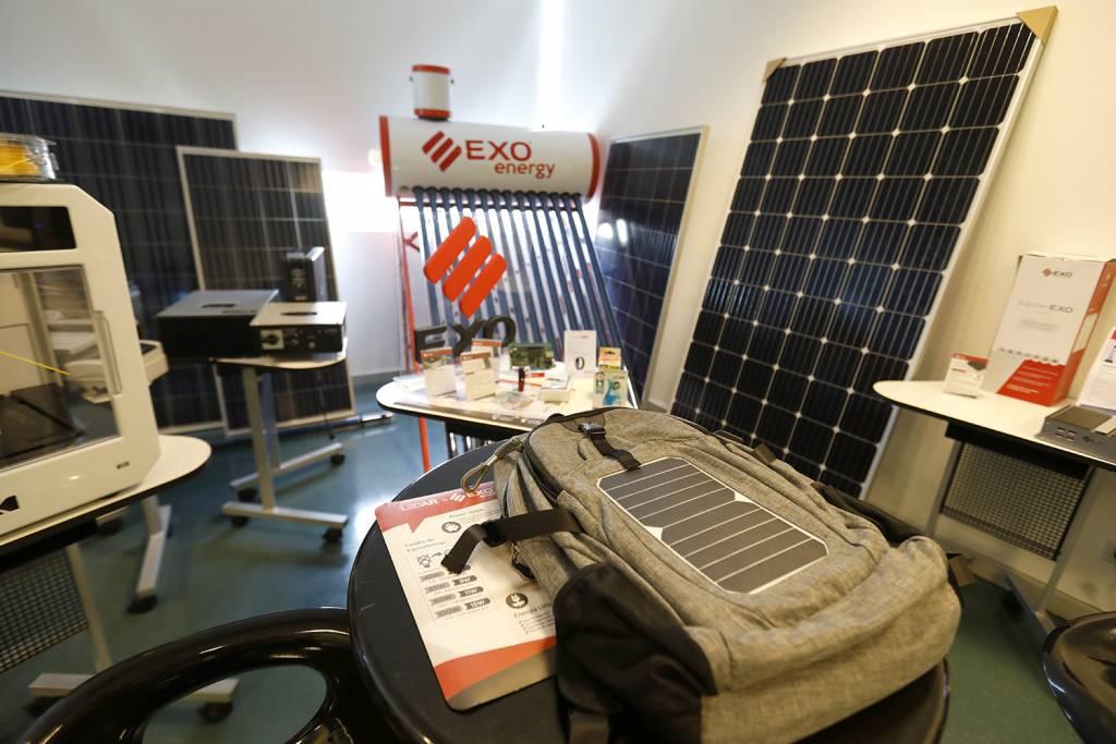 EXO utiliza paneles solares y termotanques solares en su edificio del barrio de Parque Patricios, en Capital Federal
