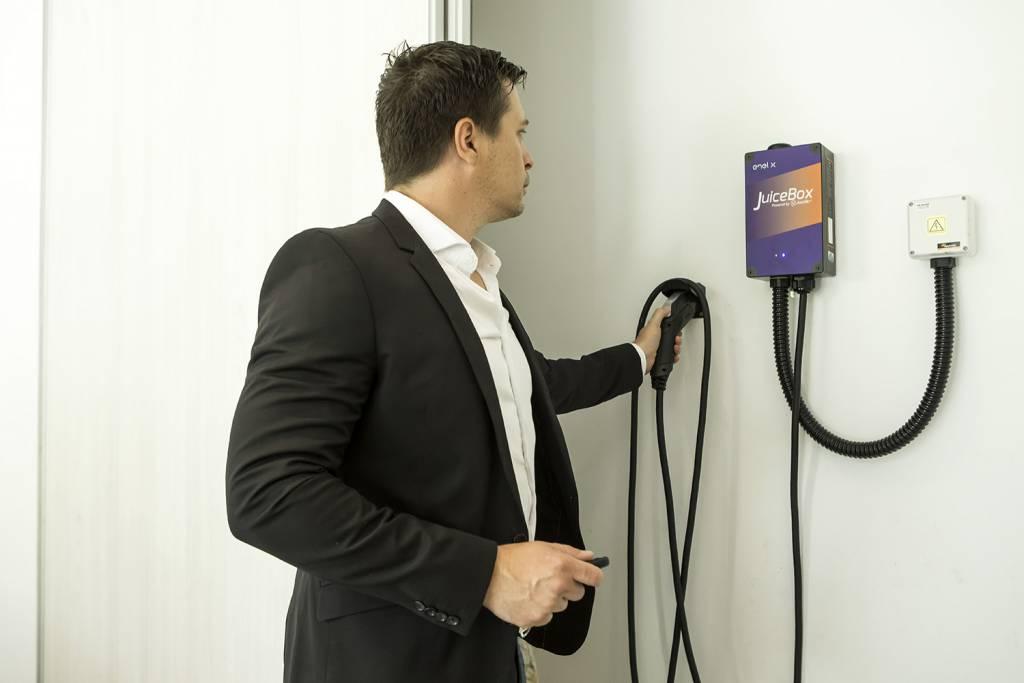 Juicebox Pro, cargador hogareño de vehículos eléctricos
