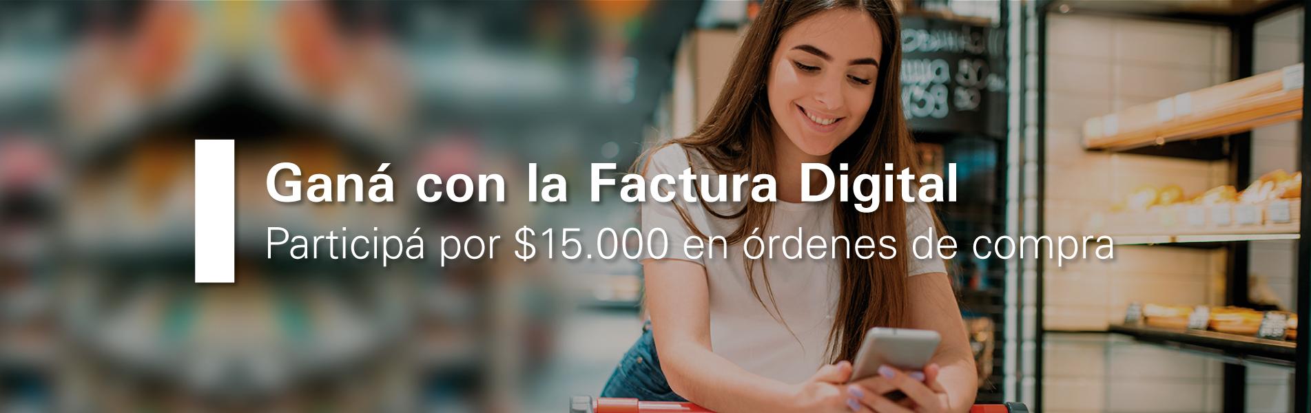 Promo Factura Digital de Edesur