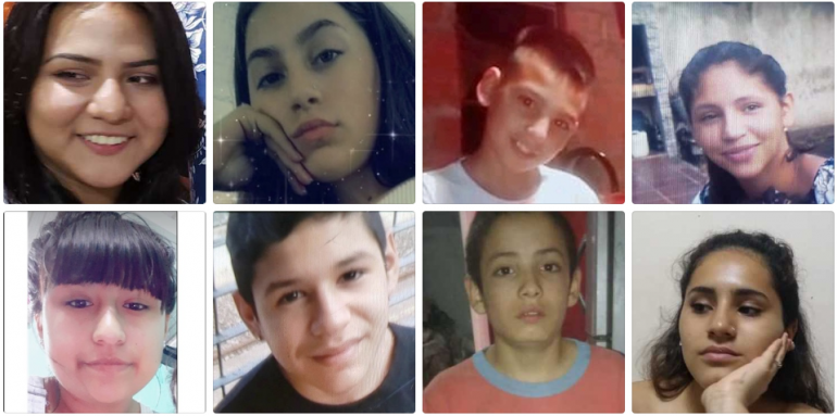 Chicos perdidos, enero 2020