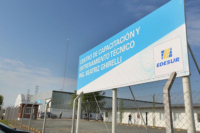 Edesur y Municipalidad de Ezeiza montan un hospital de campaña