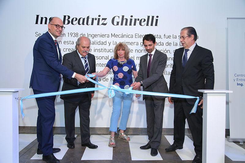 Inauguramos el Centro de Capacitación y Entrenamiento Técnico de Ezeiza