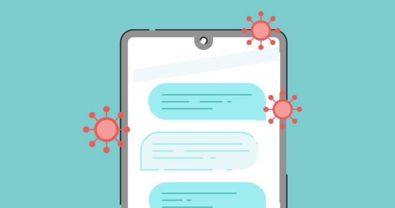 Cómo desinfectar un teléfono celular o tablet