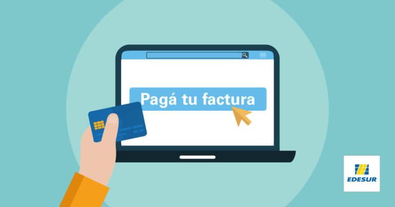 ¿Cómo pagar tu factura desde la web de Edesur?