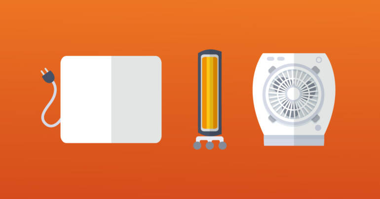 ¿Cómo saber cuánto consume un calefactor eléctrico?