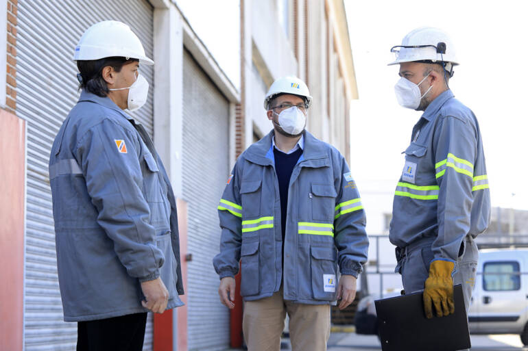 Obras en barrios: inversiones en Esteban Echeverría