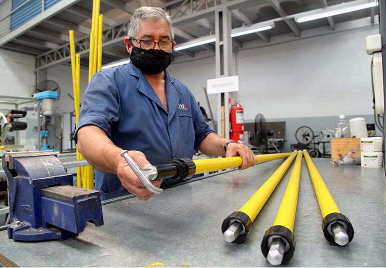 Tyrco customiza equipos en su laboratorio para nuestra red eléctrica