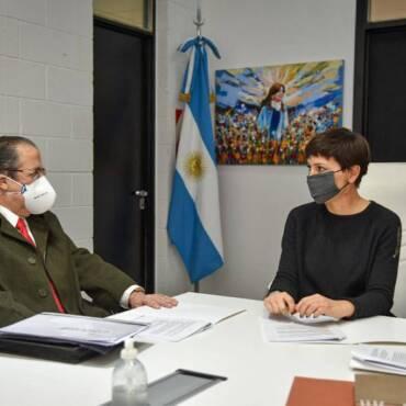 Acuerdo con Quilmes: obras para cuatro barrios