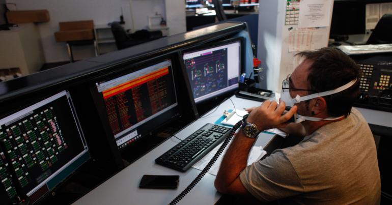 Edesur renovó su sistema de radiocomunicación